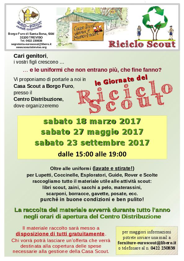 Volantino Riciclo Scout 2017 A4