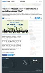 Intitolazione del Bosco Lento a Buti (rassegna stampa)