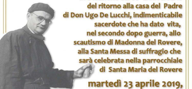 In ricordo di Don Ugo de Lucchi