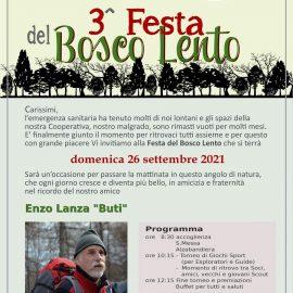 3^ Festa del Bosco Lento e Torneo delle Squadriglie